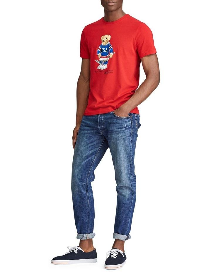Custom Slim Fit Bear T-Shirt image 4