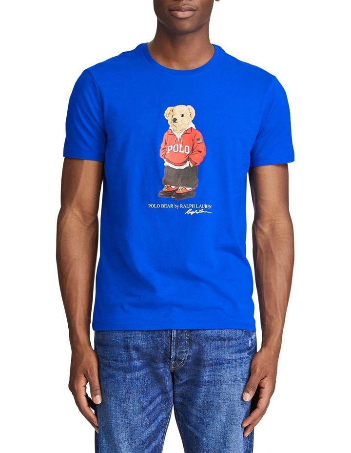 Custom Slim Fit Polo Bear Tee image 1