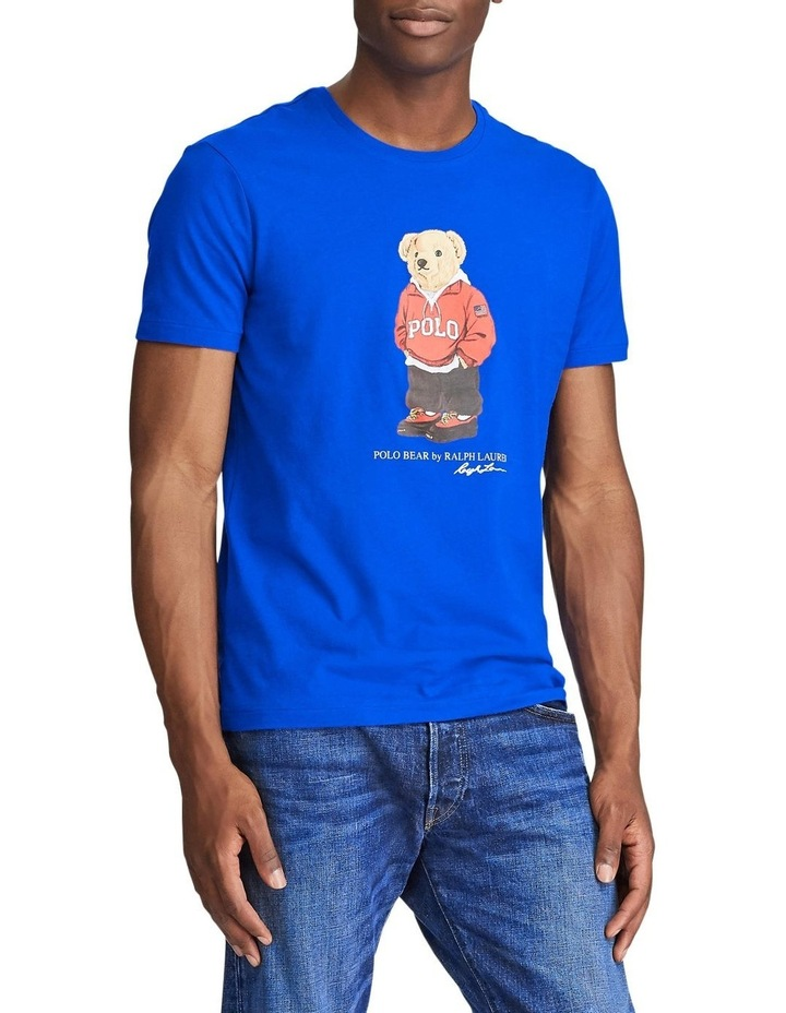 Custom Slim Fit Polo Bear Tee image 2