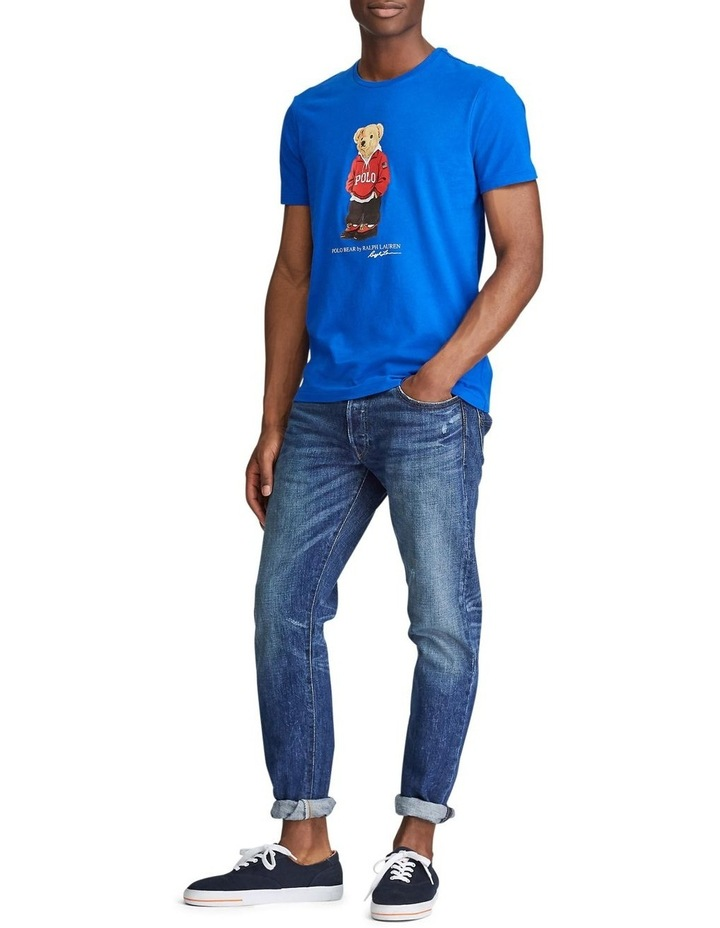 Custom Slim Fit Polo Bear Tee image 4