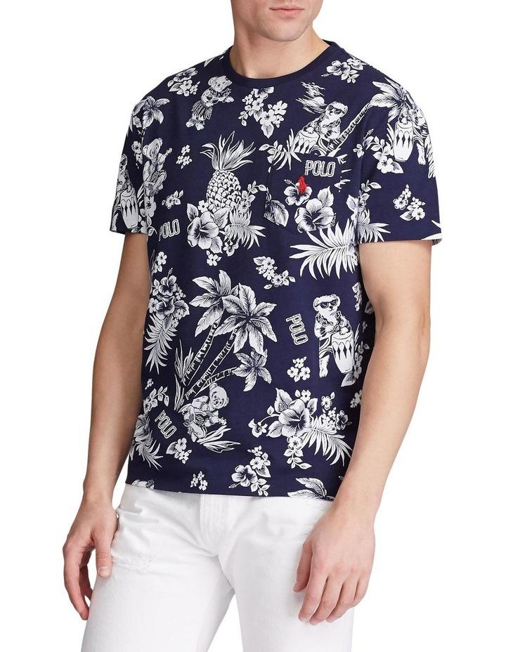 Custom Slim Fit Bear T-Shirt image 2