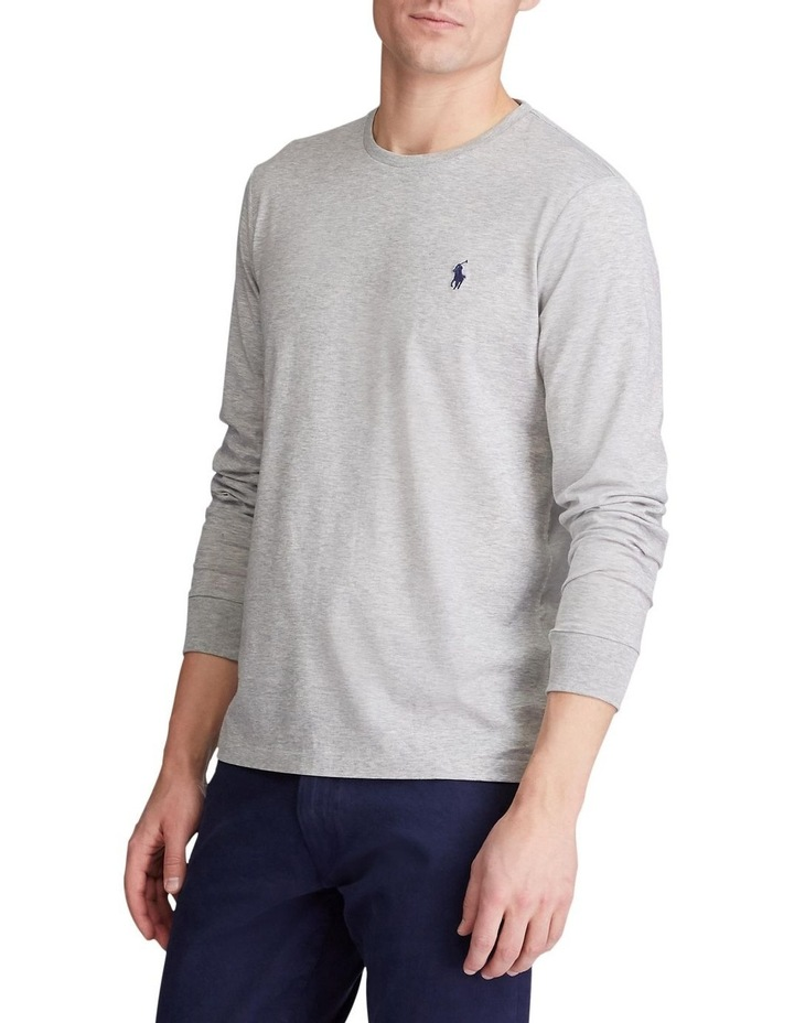 Custom Slim Fit Jersey Long Sleeve T-Shirt image 2
