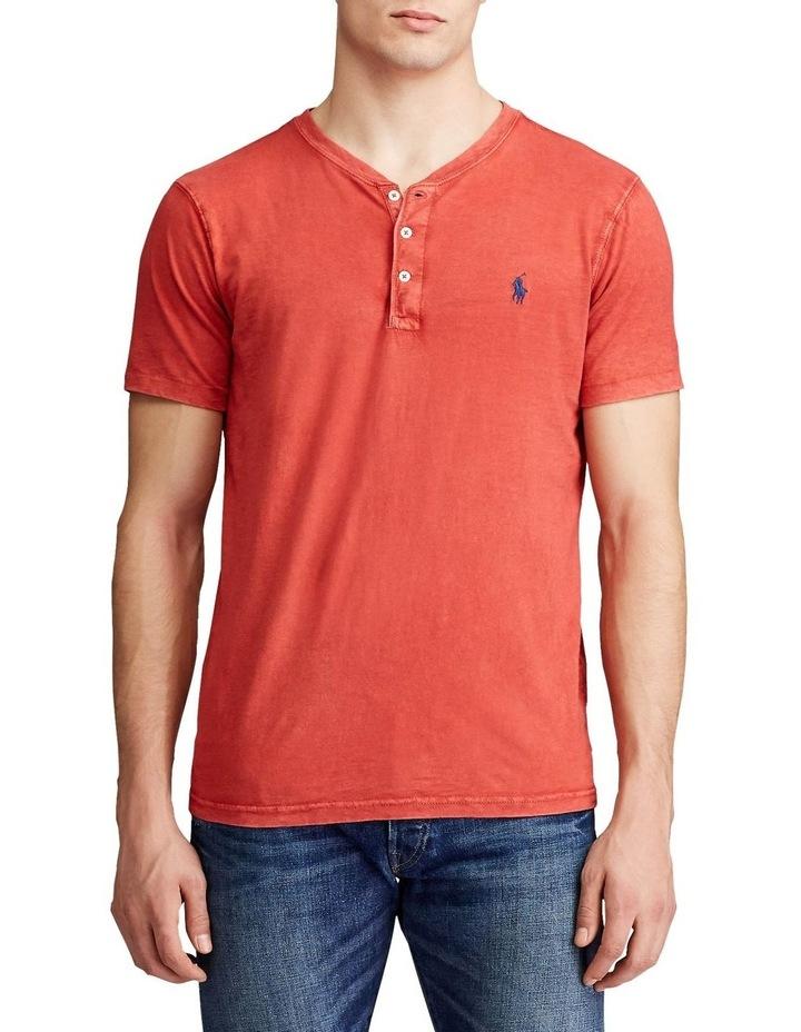 Slub Jersey Henley T-Shirt image 1