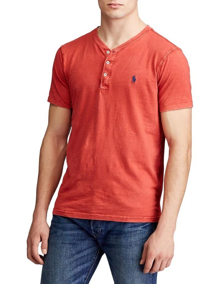 Slub Jersey Henley T-Shirt image 2