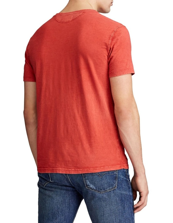 Slub Jersey Henley T-Shirt image 3