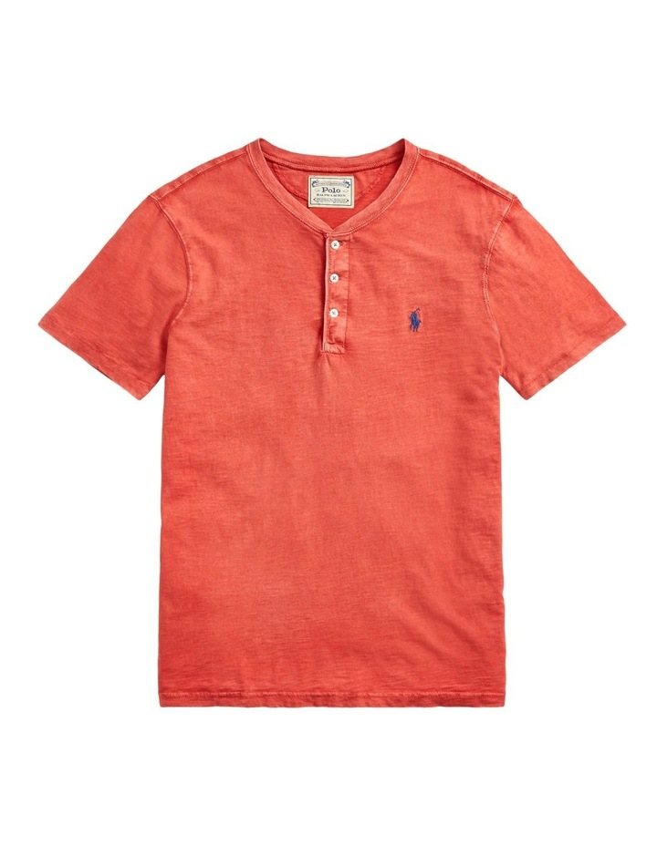 Slub Jersey Henley T-Shirt image 4