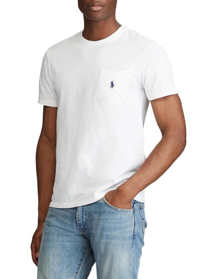 Custom Slim Fit Pocket T-Shirt image 2