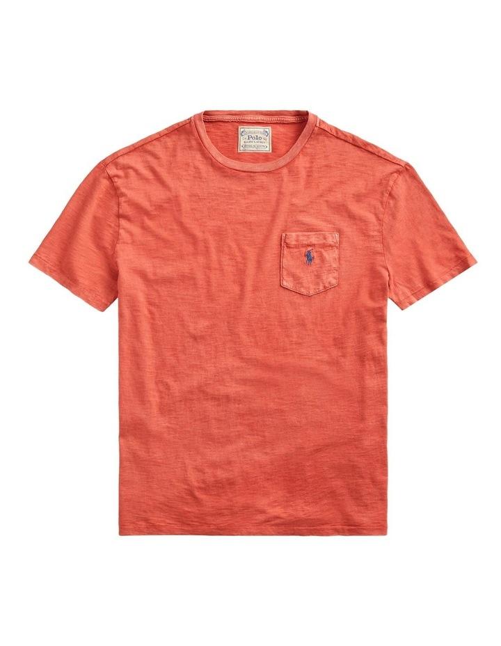 Custom Slim Fit Pocket T-Shirt image 1