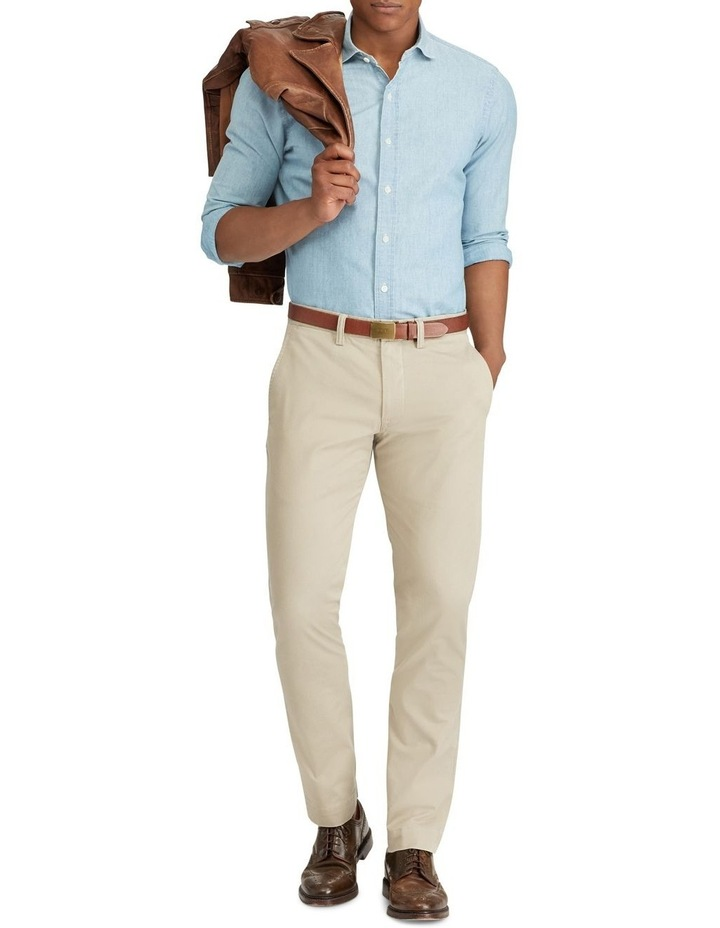 Stretch Straight Fit Chino image 3