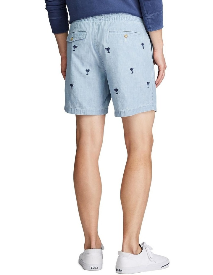 Classic Chambray Polo Prepster Shorts image 3