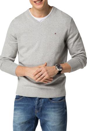Tommy Hilfiger Pacific V-Neck Knitwear | Tuggl