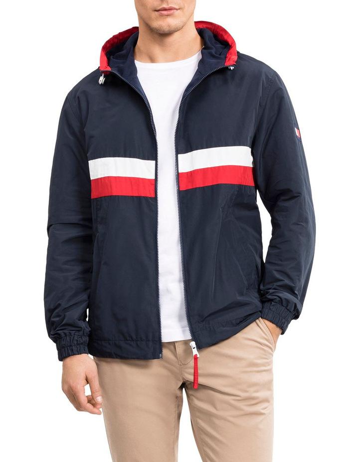 bd73b3ef155 Wcc Hooded Zip Up Jacket Sky Captain image 1