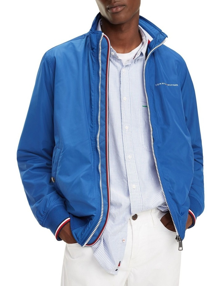 Zipped Neck Bomber Jacket image 1