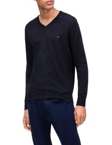 63b1116a6f5c Tommy HilfigerCotton Wool Stretch Sweater. Tommy Hilfiger Cotton Wool  Stretch Sweater