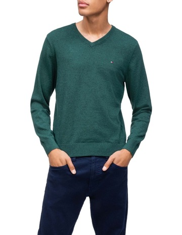 117ca285 Tommy HilfigerCotton Wool Stretch Sweater. Tommy Hilfiger Cotton Wool  Stretch Sweater