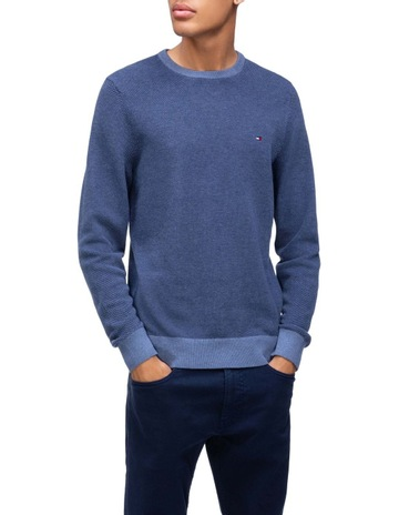 bdfabf8fa1dc Tommy HilfigerStructured Contrast Sweater. Tommy Hilfiger Structured  Contrast Sweater