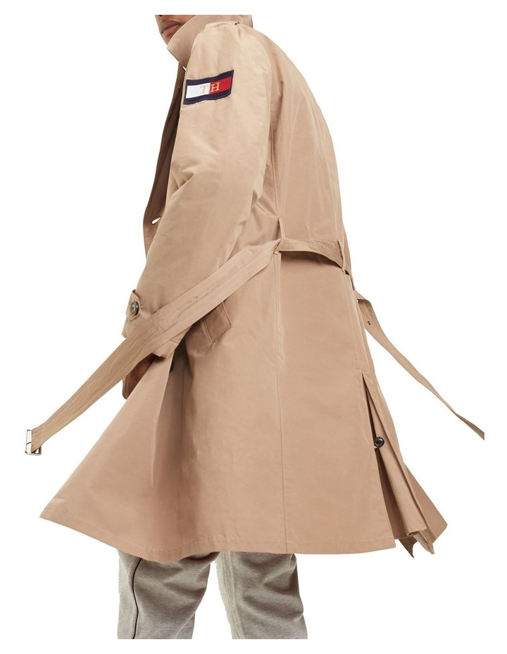 Hooded Double Breasted Trenchcoat image 2