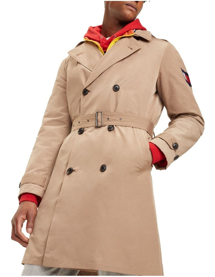 Hooded Double Breasted Trenchcoat image 3
