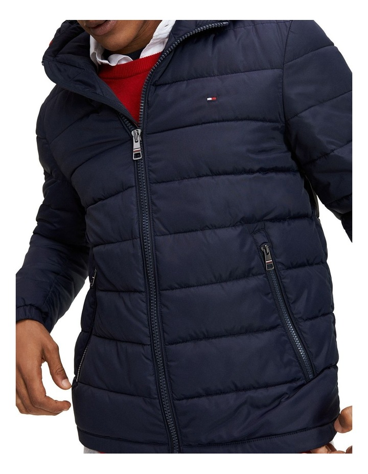 Tommy Hilfiger Tech Quilted Hooded Jacket image 1