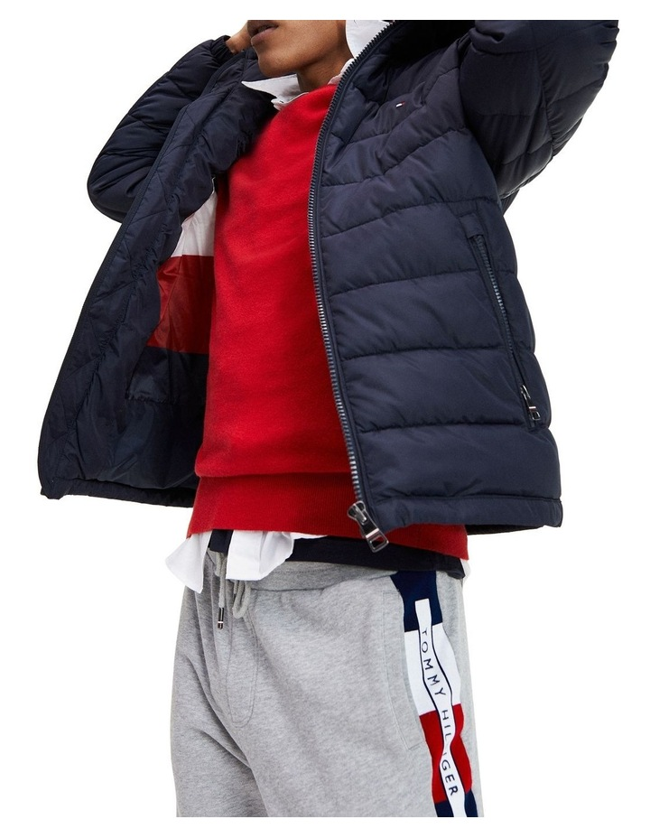 Tommy Hilfiger Tech Quilted Hooded Jacket image 3