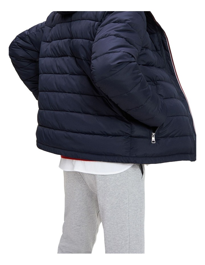 Tommy Hilfiger Tech Quilted Hooded Jacket image 4