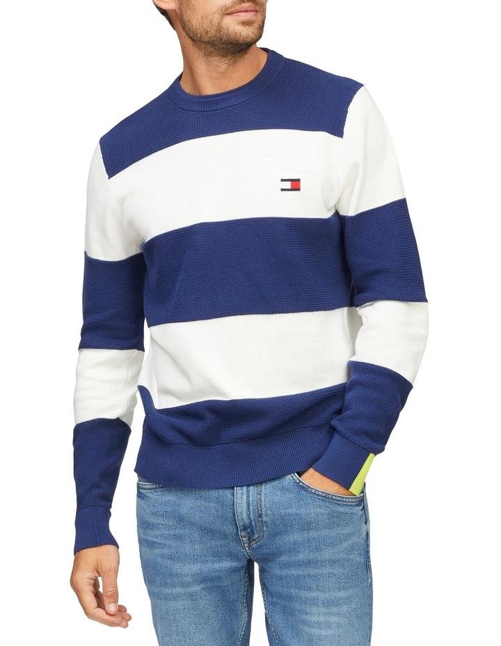 Stripe Organic Cotton Jumper image 1