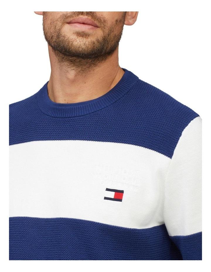 Stripe Organic Cotton Jumper image 3