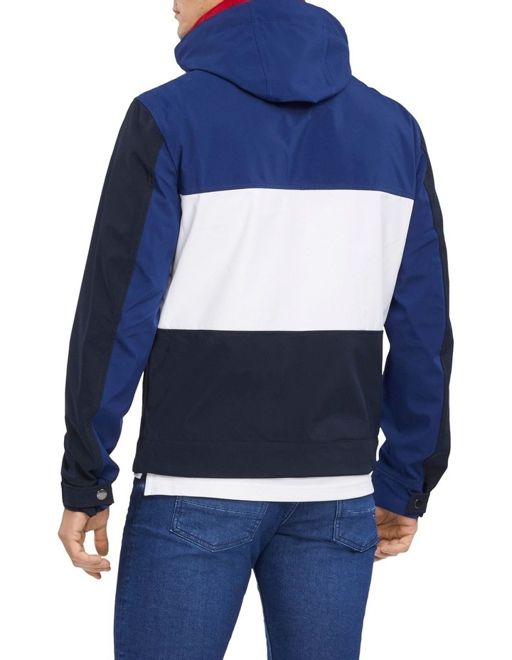 Flex Colour Block Hooded Blouson Jacket image 2