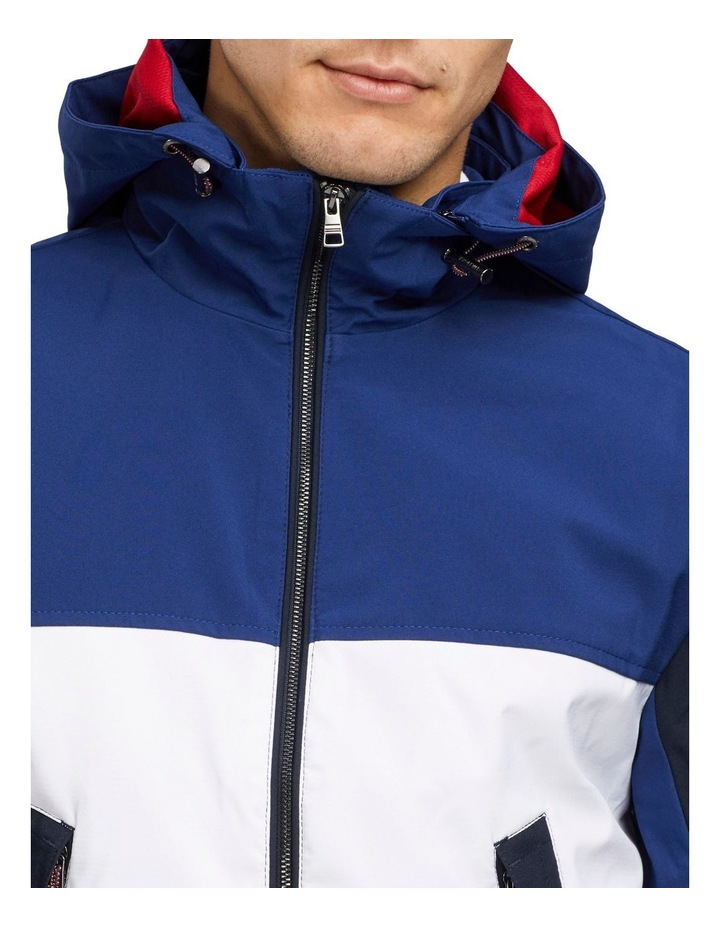 Flex Colour Block Hooded Blouson Jacket image 3