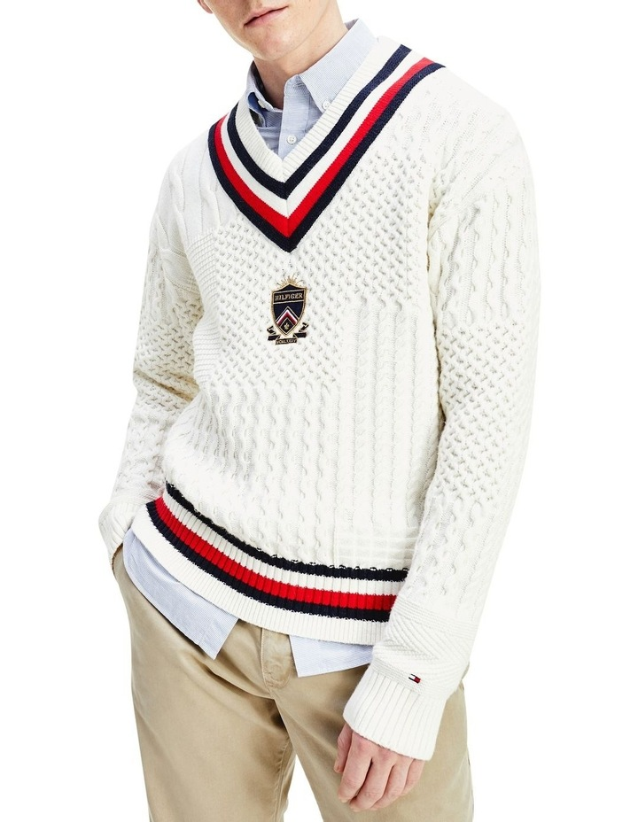 Patchwork Cable Cricket Knit image 1
