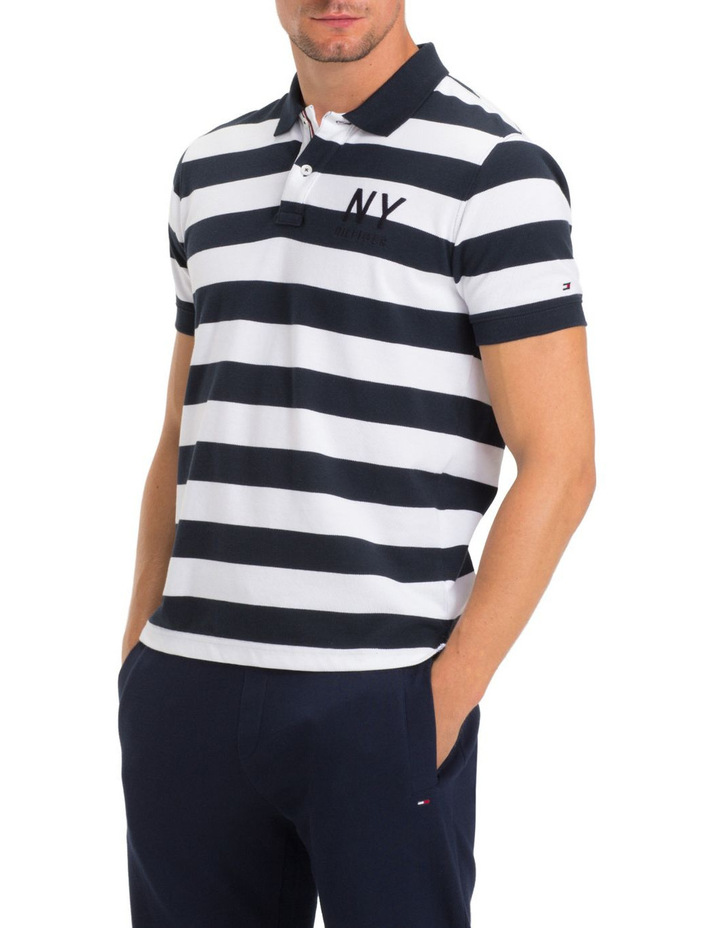 WCC BLOCK STRIPE REGULAR POLO image 1
