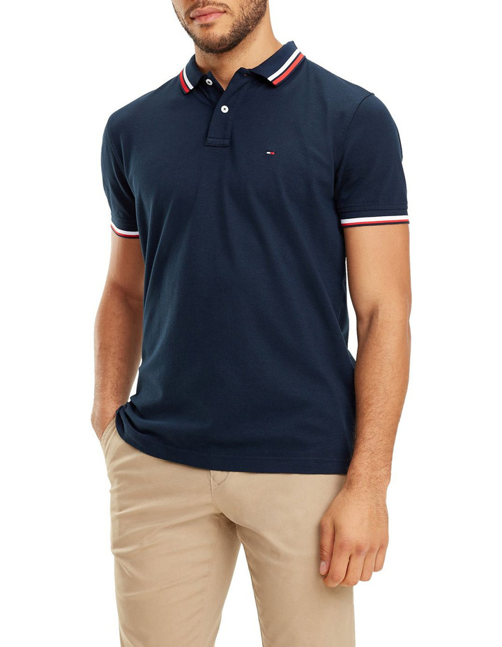 Solid Texture Regular Polo image 1