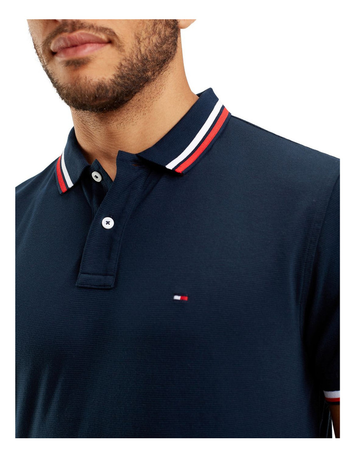 Solid Texture Regular Polo image 3