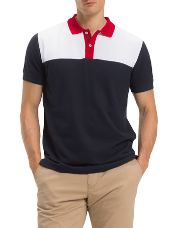 48ff16ac6 Tommy Hilfiger Pure Cotton Logo Polo Shirt
