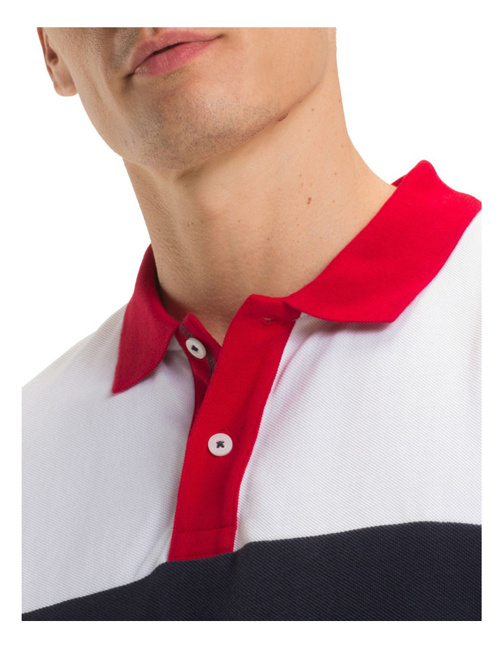 Pure Cotton Logo Polo Shirt image 3