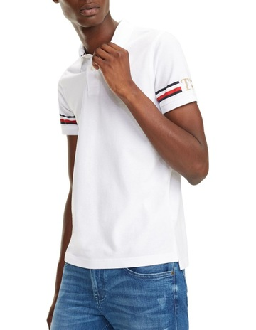 94ff01de Tommy Hilfiger Signature Tape Slim Fit Polo