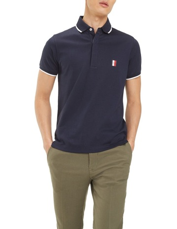 1bdbe4ecac86df Tommy HilfigerSophisticated Jersey Slim Polo. Tommy Hilfiger Sophisticated  Jersey Slim Polo