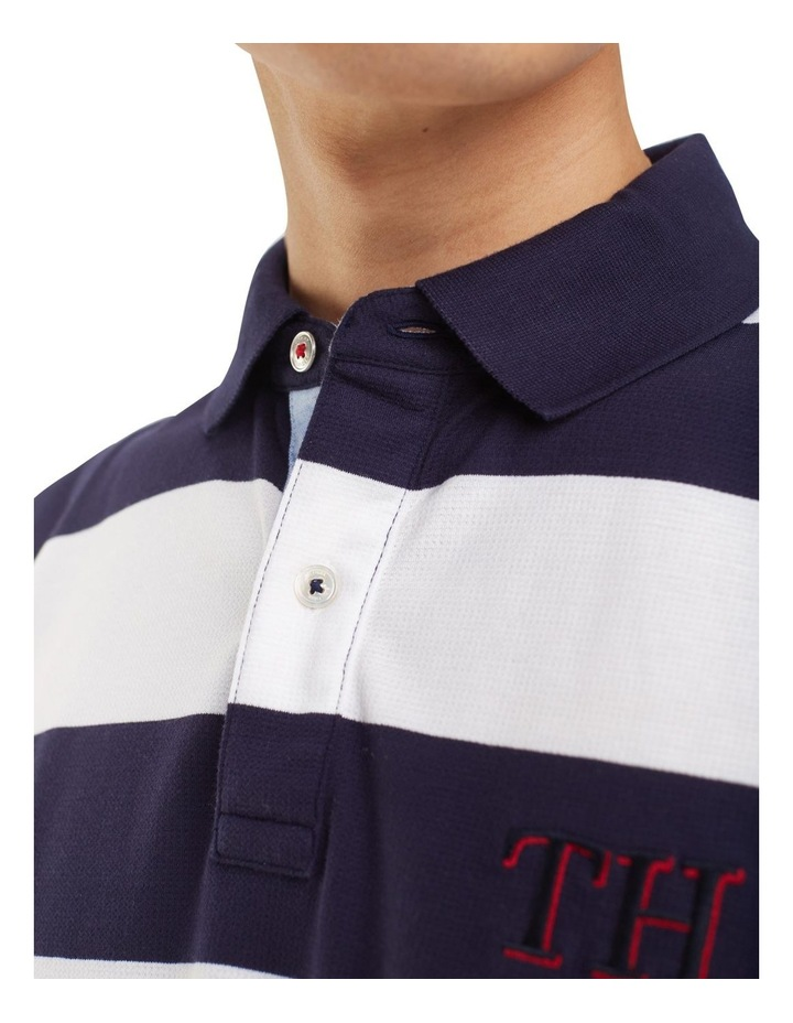 Striped Hem Detail Regular Polo image 3