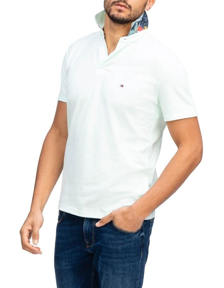 Under Collar Print Regular Polo image 1