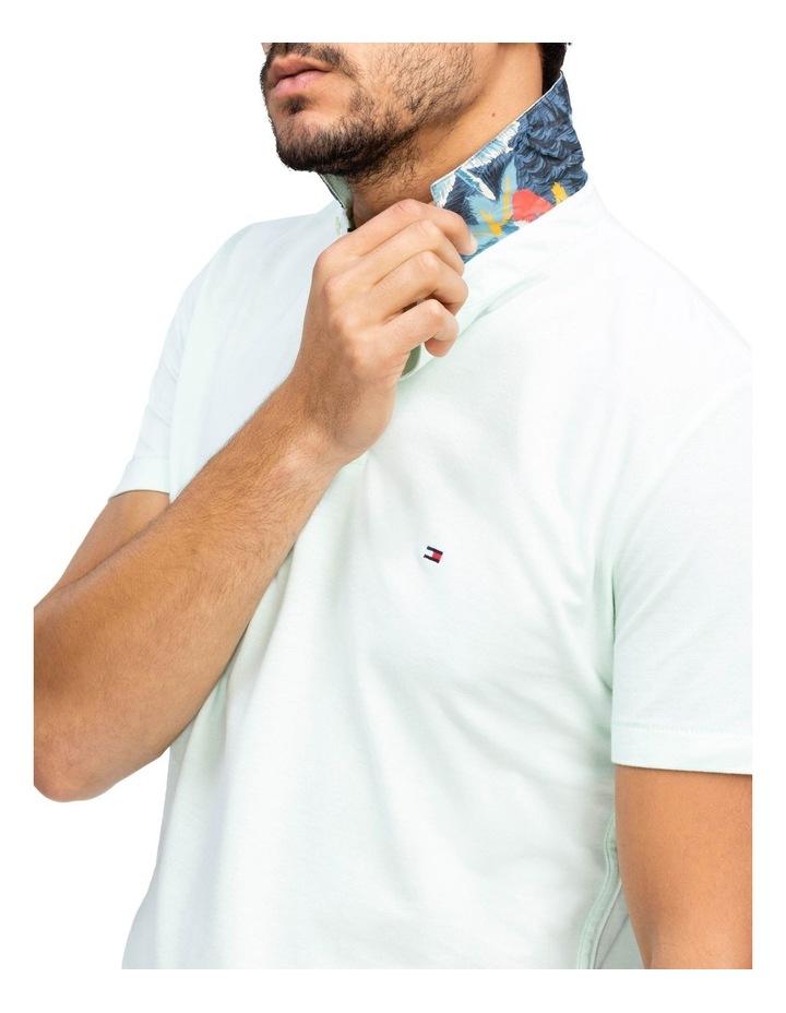 Under Collar Print Regular Polo image 3