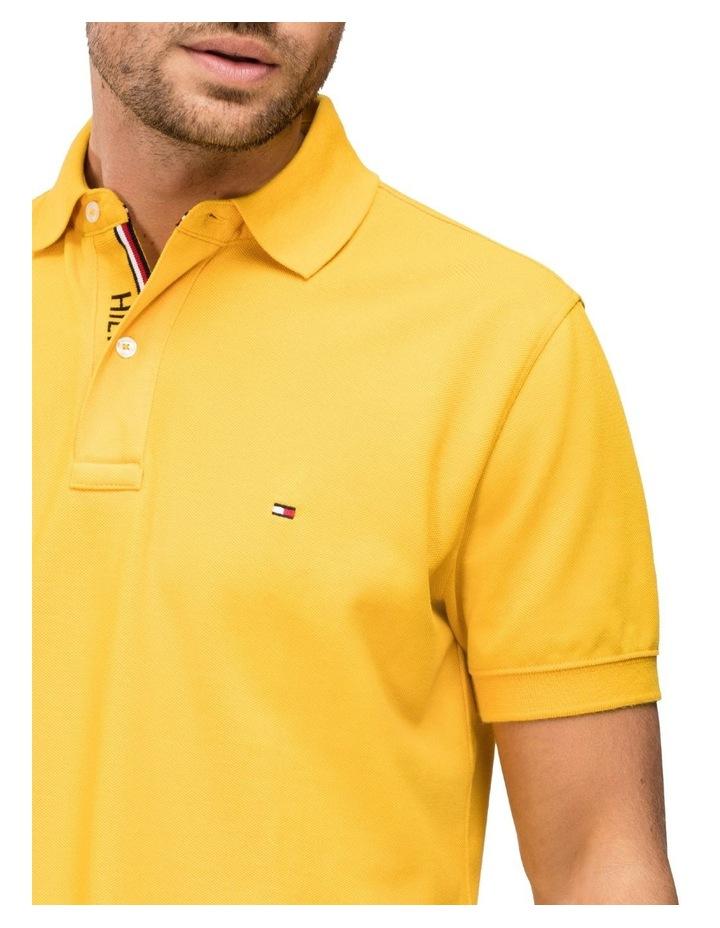 Hilfiger Logo Placket Regular Fit Cotton Polo image 3
