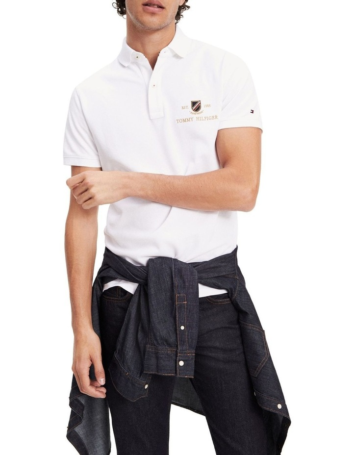 Icon Gold Embroidery Slim Polo image 1