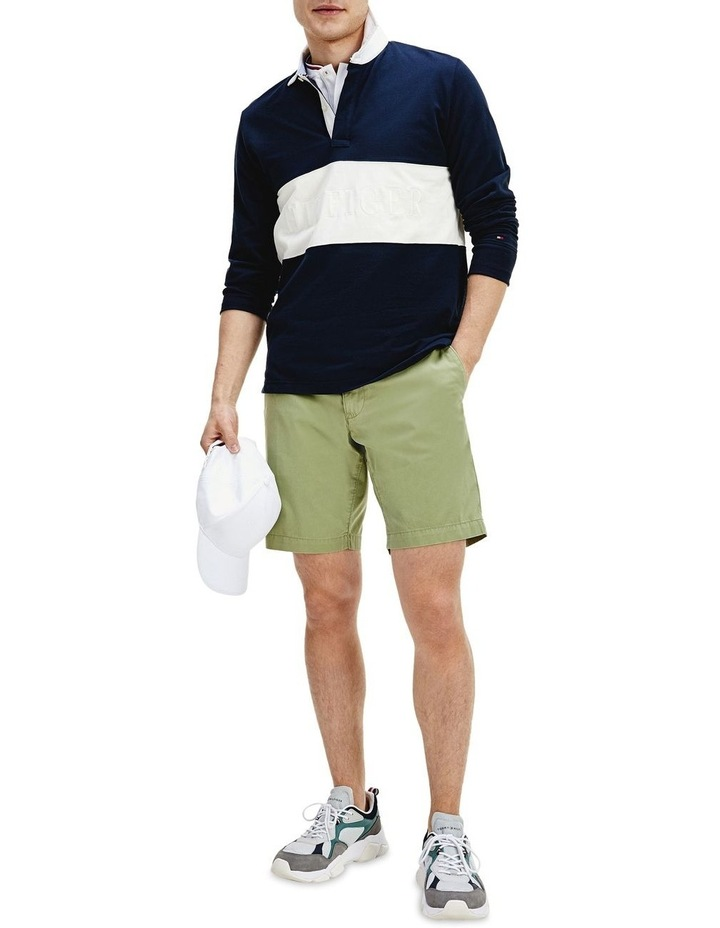 Colour-Blocked Rugby Polo image 1