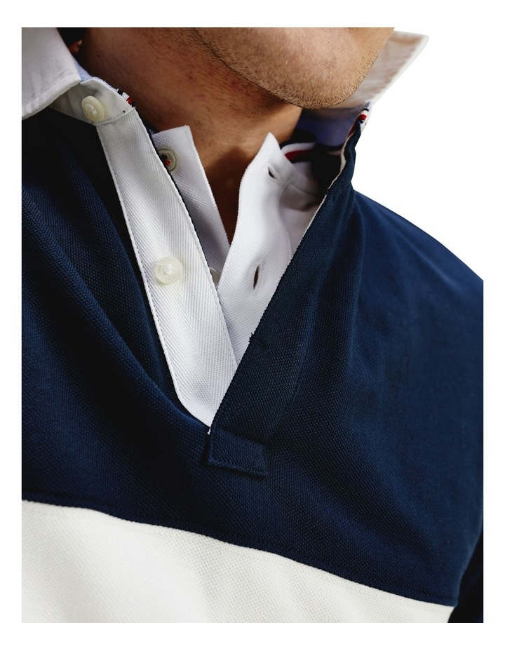 Colour-Blocked Rugby Polo image 5