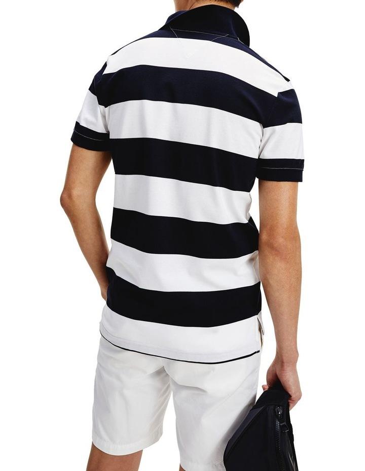 Block Stripe Regular Fit Polo image 4