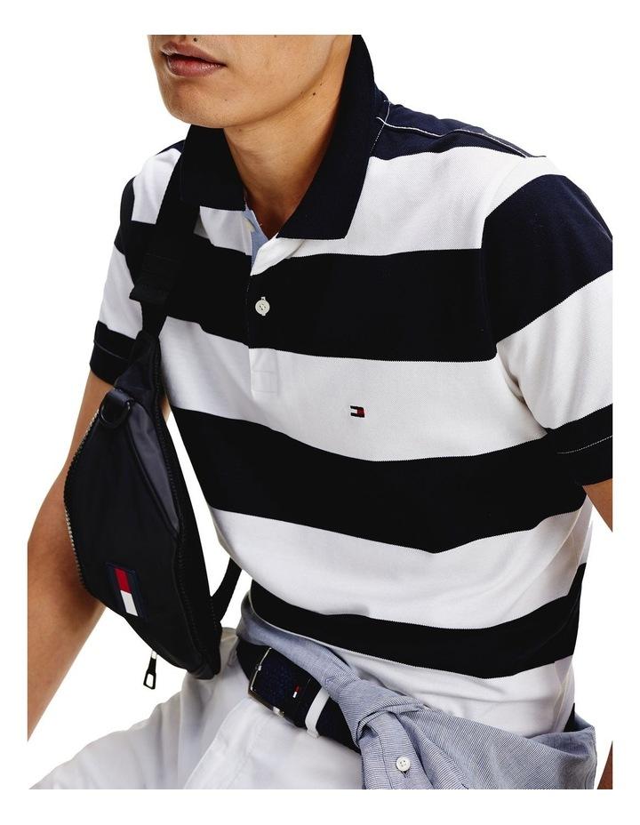 Block Stripe Regular Fit Polo image 5