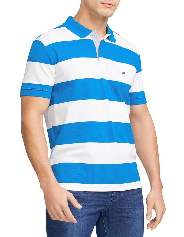 Block Stripe Regular Fit Polo image 1