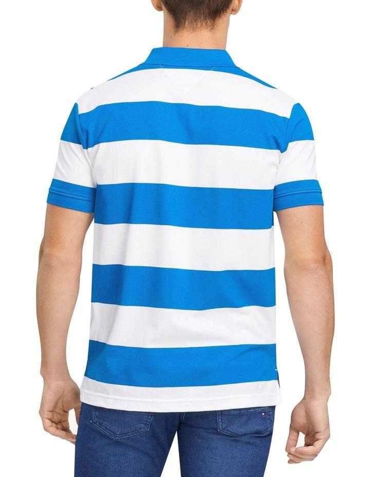 Block Stripe Regular Fit Polo image 2