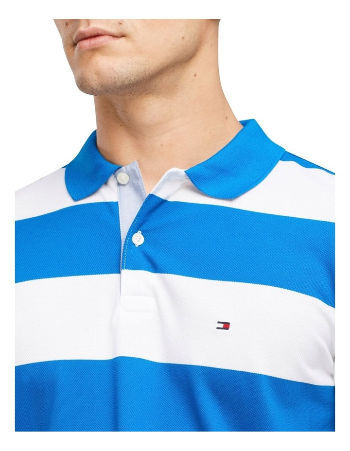 Block Stripe Regular Fit Polo image 3