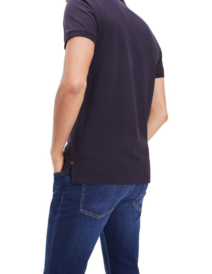 Embroidered Pure Cotton Slim Fit Polo image 3